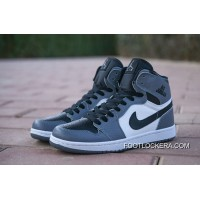 Nike Air Jordan 1 AJ1 Action Leather Disappear Grey Flying Wings Copuon Code