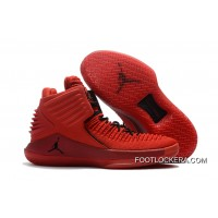 "Nike Air Jordan XXX2 ""Rosso Corsa"" Gym Red/Black Sneakers On Sale Best"