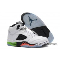 "Nike Air Jordan 5 ""Gradient"" Space Jam Infrared 23/Light Poison Green Free Shipping"