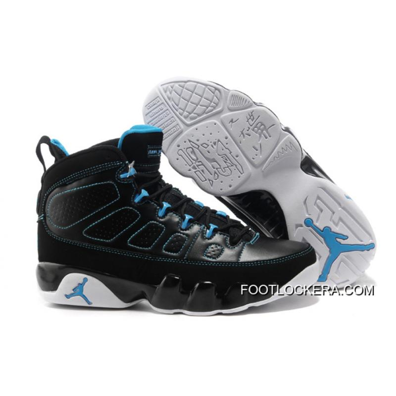 Nike Air Jordan 9 Black/Photo Blue-White Best ...
