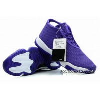 Nike Air Jordan Future Glow Purple White Lastest