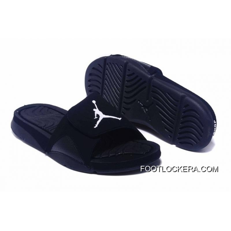5799090f614d7 Nike Jordan Hydro IV Retro All Black Top Deals ...