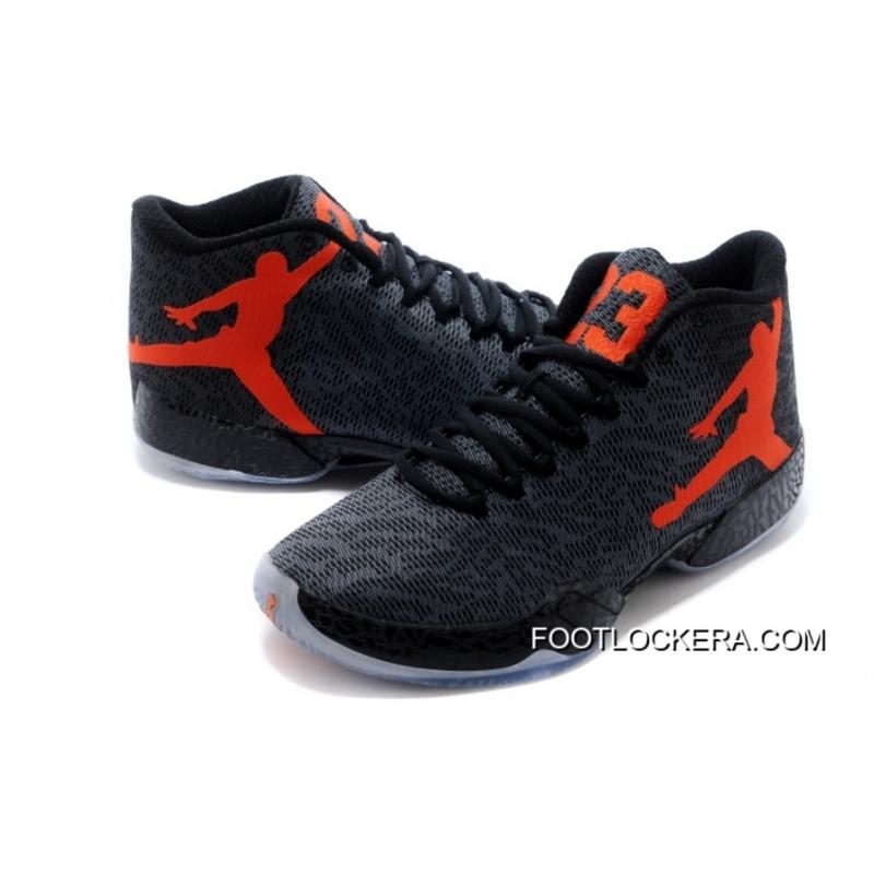 "7bf80ad9ad4c3 ... Nike Air Jordan XX9 ""Team Orange"" Black Team Orange-Dark Grey New ..."