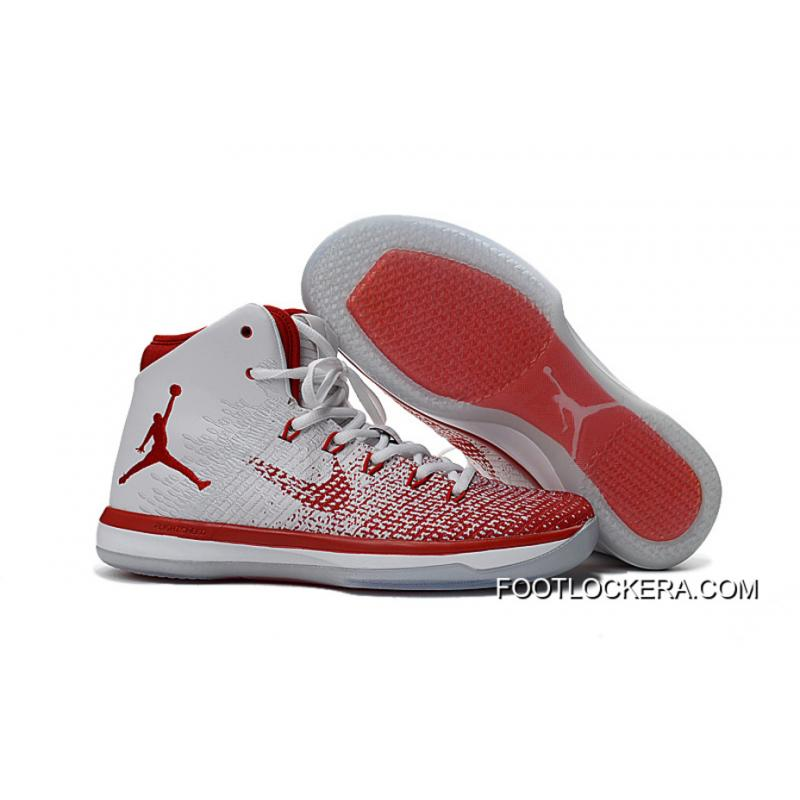 "Nike Air Jordan XXXI ""Croatian"" Olympic White Red For Sale ... e43980304"