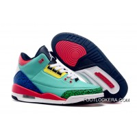 "Nike Air Jordan 3 GS ""Bel-Air"" New Style"