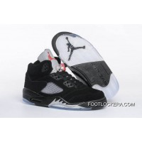 "Nike Air Jordan 5 GS ""Black Metallic"" Lastest"