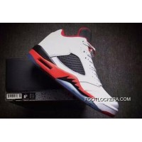 "Nike Air Jordan 5 Low GS ""Fire Red"" Lastest"