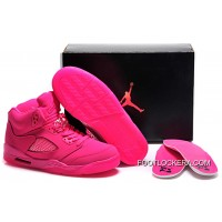 Nike Air Jordan 5 GS All-Pink Shoes For Sale