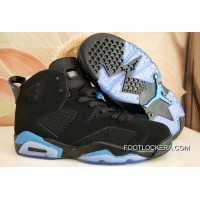"Nike Air Jordan 6 GS ""UNC"" Black/University Blue Sneakers On Sale Copuon Code"