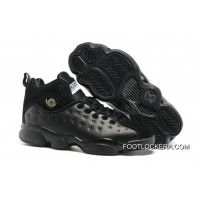 "Nike Jordan Jumpman Team 2 GS ""Raging Bull"" All-Black New Style"