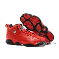 "Nike Jordan Jumpman Team 2 GS ""Raging Bull"" All-Red Authentic"