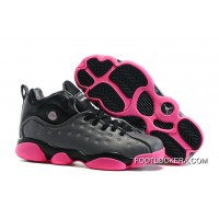Nike Jordan Jumpman Team 2 GS Dark Grey/Vivid Pink/Black/Metallic Silver Lastest