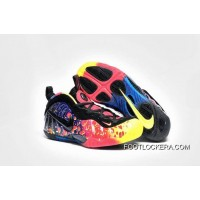 """Girls Nike Air Foamposite Pro GS """"Asteroid"""" Free Shipping"""