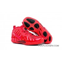 """Girls Nike Air Foamposite Pro GS """"Gym Red"""" Lastest"""