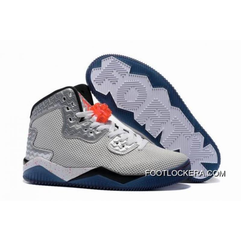 """04f139cb385337 Nike Jordan Air Spike 40 Forty PE """"Fire Red"""" White Fire Red Black ..."""