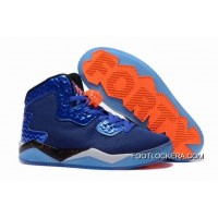 "Nike Jordan Air Spike 40 Forty PE ""Game Royal"" Game Royal/Total Orange-White-Black Copuon Code"