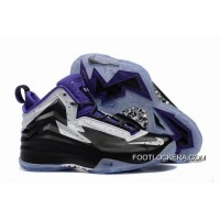 Nike Jordan Air Spike 40 Forty PE Black Purple White New Style