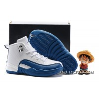 "Kids Air Jordan 12 ""French Blue"" Lastest"