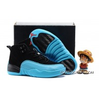 "Kids Air Jordan 12 ""Gamma Blue"" Super Deals"