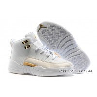 "Kids Air Jordan 12 ""OVO White"" Top Deals"