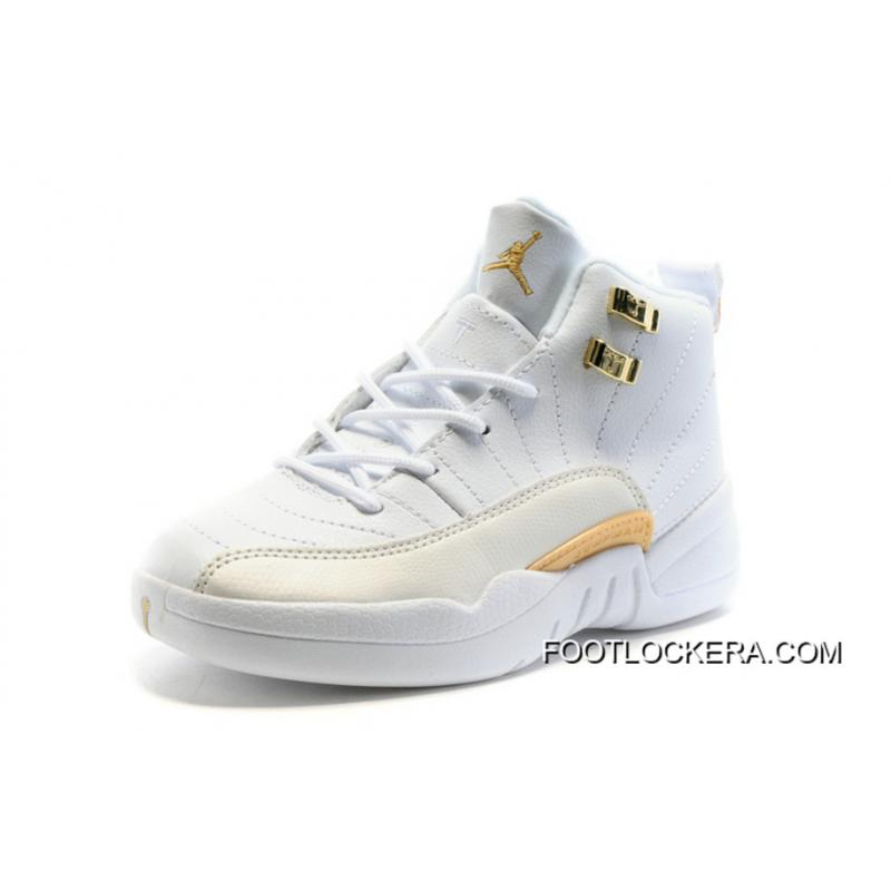 "promo code a96a5 33745 Kids Air Jordan 12 ""OVO White"" Top Deals"