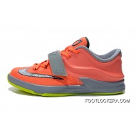 2018 New Year Deals Kids Nike KD VII Basketball Shoe SKU:196859-205