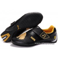 Mens Puma Baylee Future Cat In Black/Golden 2018 For Sale