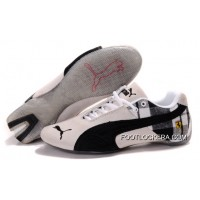 Mens Puma Ferrari In White/Black/Gray 2018 Cheap To Buy