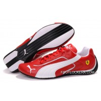 Mens Puma Ferrari In Red/White/Black 2018 Latest