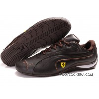 2018 Free Shipping Mens Puma Ferrari In Chocolate