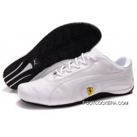 Mens Puma Ferrari In White 2018 Free Shipping