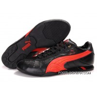 2018 Cheap To Buy Mens Puma Ferrari In Black/Red