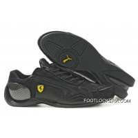 Mens Puma Ferrari IV In Black 2018 Best