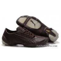 2018 Latest Puma Football Trainers Brown
