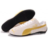 2018 For Sale Mens Puma Fur In White/Golden