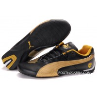 2018 New Style Mens Puma Future Cat Ferrari In Golden/Black