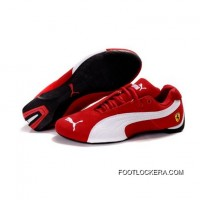 2018 Best Mens Puma Future Cat Ferrari In Varsity Red-white