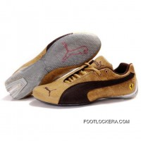 Mens Puma Future Cat Shoes Sand Chocolate 2018 New Style