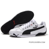2018 Online Puma Michael Schumacher Shoes White Black