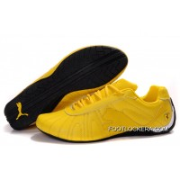 Mens Puma Speed Cat Big In White/Yellow/Black 2018 New Release