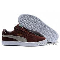 Puma Suede Archive Sneakers BrownBeige 2018 Free Shipping