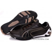 Mens Puma Trionfo Tour SF In Brown/Black/White 2018 Discount