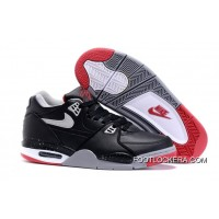 """Nike Air Flight '89 """"Bred"""" Black/Cement Grey-Fire Red-White Shoes Copuon Code"""