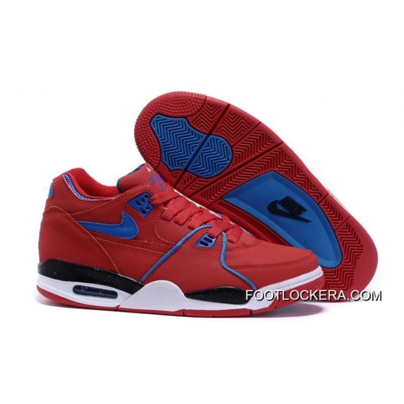 new product 61258 29e9c Nike Air Flight  89 University Red Game Royal Sports Basketball Shoes New  Release ...