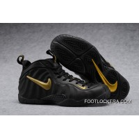 """Nike Air Foamposite Pro """"Black Gold""""High Quality New Style"""