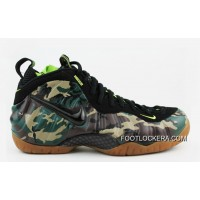 "Nike Air Foamposite Pro PRM LE ""Army Camo"" Forest/Black Lastest"