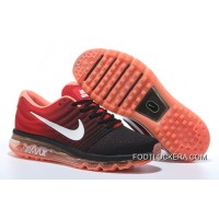 Nike Air Max2017 Flyknit Men Women Red Orange Top Deals