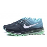 NIKE Air Max2017 Flyknit Men Green Blue Black Top Deals