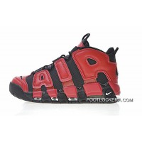 Nike Air More Uptempo QS Black Red 819151-001 Cheap To Buy