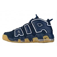 """Nike Air More Uptempo """"Obsidian"""" High Quality On Sale Authentic"""